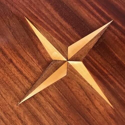 Edwardian Inlaid Mahogany Table image-3