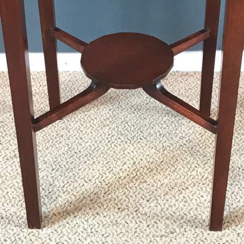 Edwardian Inlaid Mahogany Table image-4