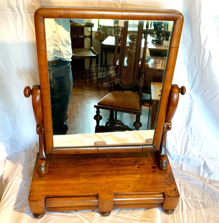 quality design d4b9f 2d43e Victorian Mahogany Dressing Table Mirror