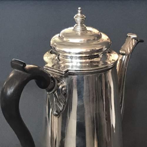 Edwardian Silver Coffee Pot image-4