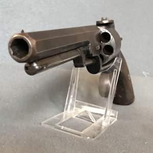 Rare Self Cocking Six Shot Percussion Revolver