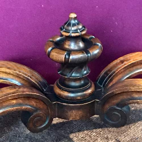 Victorian Carved Oak Centre Table image-3