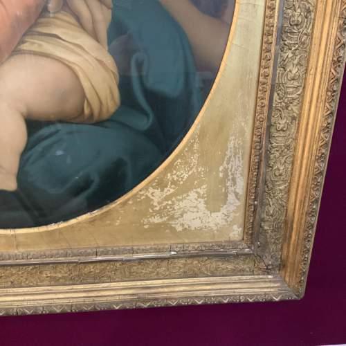 19th Century Print of Madonna And Child image-3