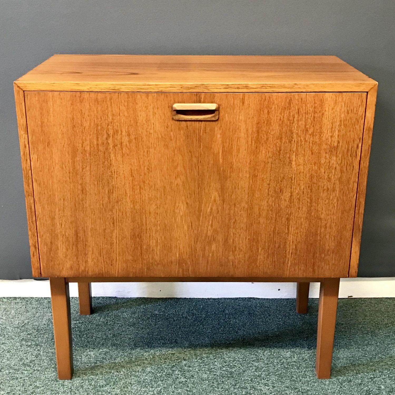 Strange 1960S Teak Lp Record Cabinet Download Free Architecture Designs Scobabritishbridgeorg