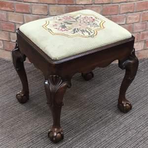 Good Quality 19th Century Mahogany Stool