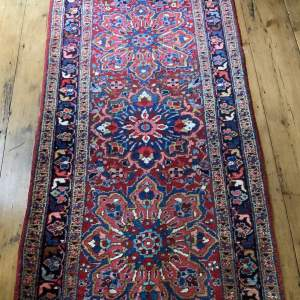 Superb Old Hand Knotted Persian Runner