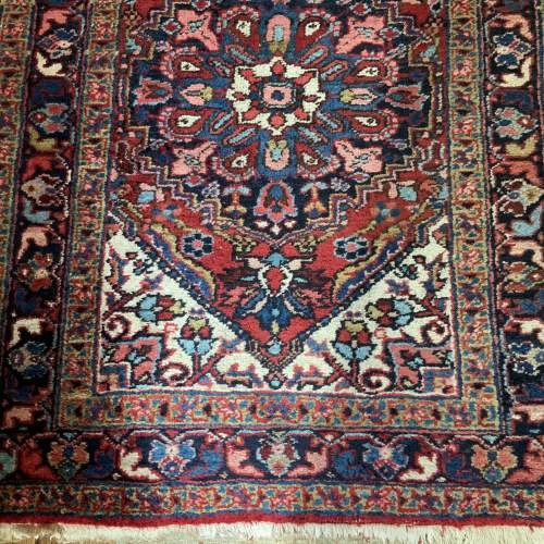 Superb Old Hand Knotted Persian Runner image-2