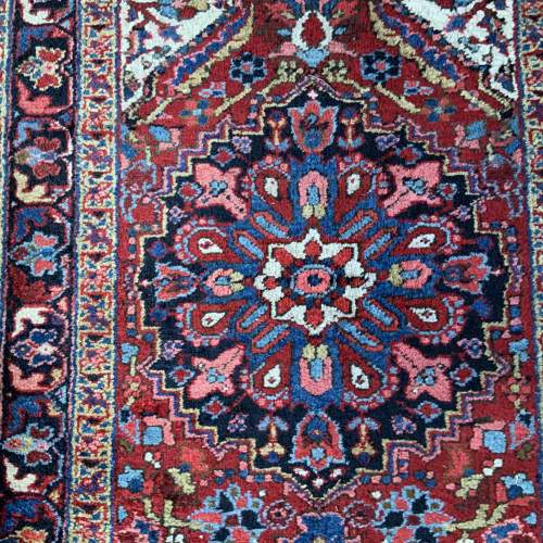 Superb Old Hand Knotted Persian Runner image-4