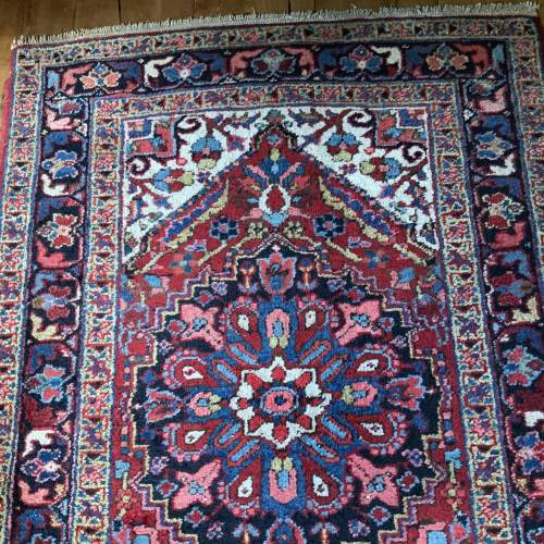 Superb Old Hand Knotted Persian Runner image-5