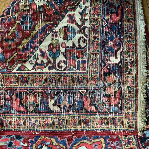 Superb Old Hand Knotted Persian Runner image-6