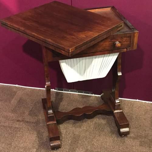 Victorian Mahogany Games Table image-2