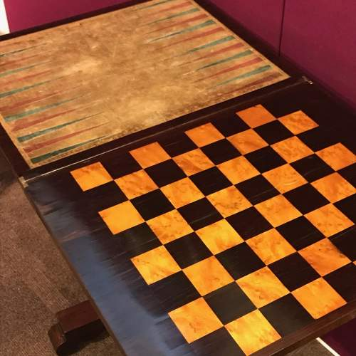 Victorian Mahogany Games Table image-3