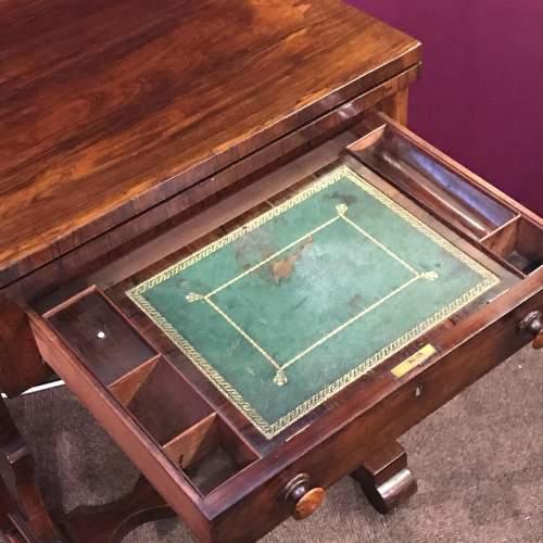 Victorian Mahogany Games Table image-5