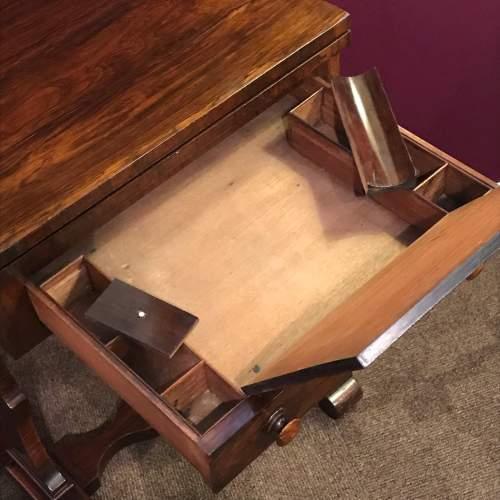 Victorian Mahogany Games Table image-6