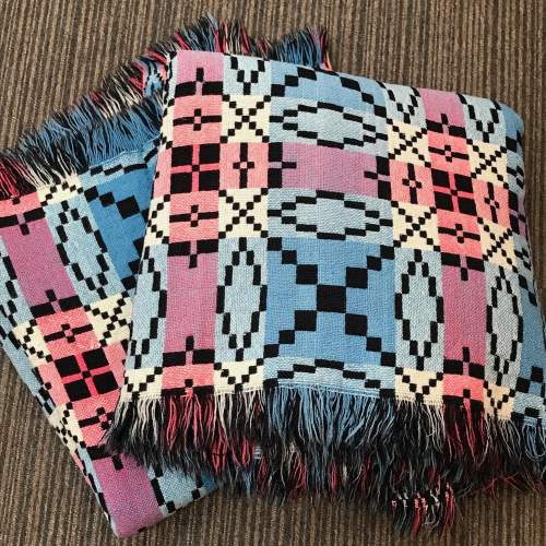 Rare Pair of 1930s Welsh Blankets image-1