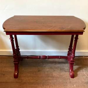 Antique Upcycled Console Table