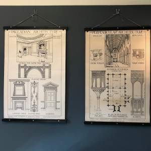 Two Batsfords School Illustrations Of Architectural History