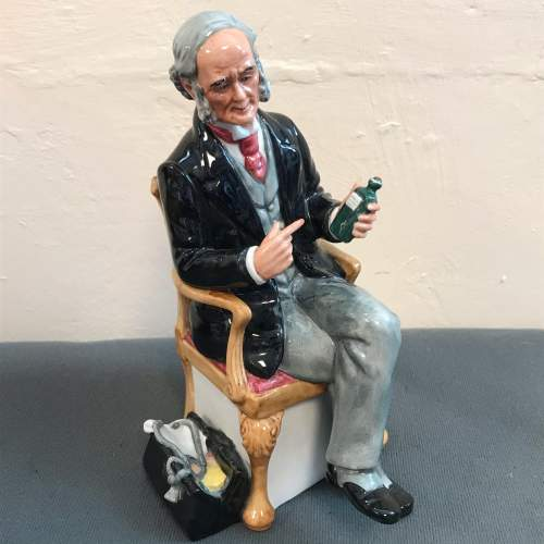 Royal Doulton Figure of The Doctor image-1