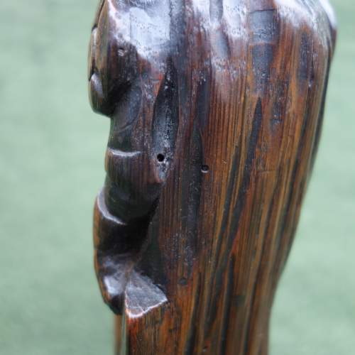 An Oak Carving of a  Medieval Knight image-6
