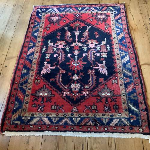 Old Hand Knotted Persian Rug image-1