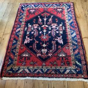 Old Hand Knotted Persian Rug
