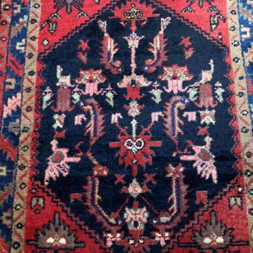 Old Hand Knotted Persian Rug image-2