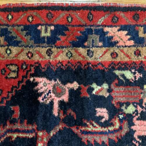 Old Hand Knotted Persian Rug image-6