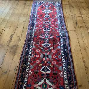 Old Hand Knotted Persian Runner