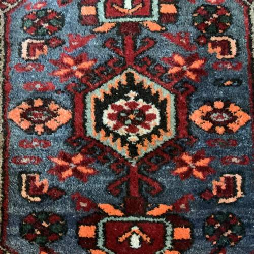 Old Hand Knotted Persian Rug with Central Medallion Design image-3