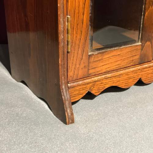 1920s Oak Smokers Cabinet image-6