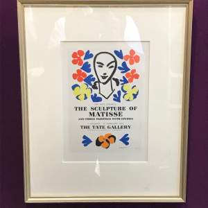 20th Century Matisse Lithograph Print