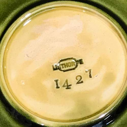 Linthorpe Pottery Cup and Saucer image-3