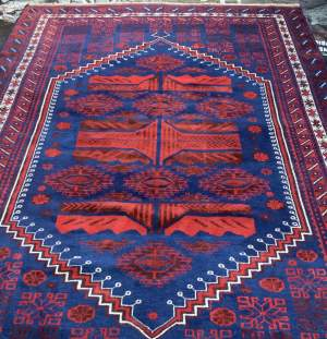 Superb Old Hand Knotted Turkish Rug Anatolia Village Yagcibedir