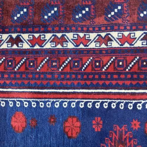 Superb Old Hand Knotted Turkish Rug Anatolia Village Yagcibedir image-5