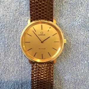 Omega De Ville Gold Plated Manual Gents Wristwatch