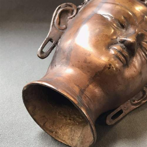 Chinese Bronze Buddha Head image-4