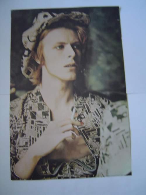 David Bowie A Very Rare 1970s Original UK Poster image-2
