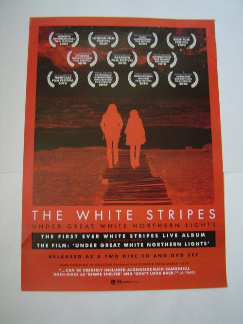 Five Different  The White Stripes Original Advertising Posters image-5