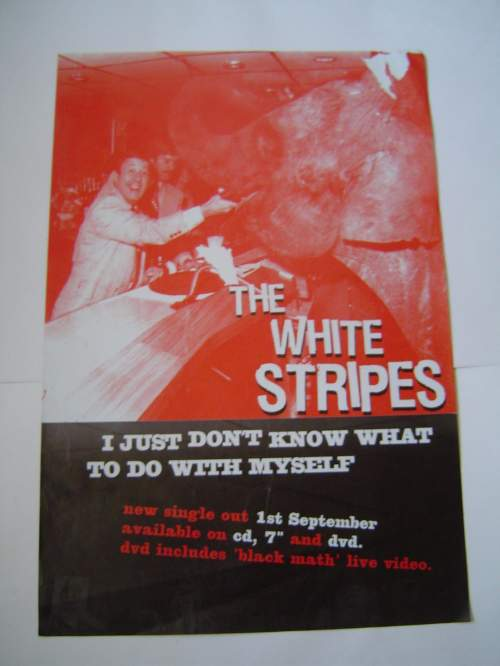 Five Different  The White Stripes Original Advertising Posters image-4
