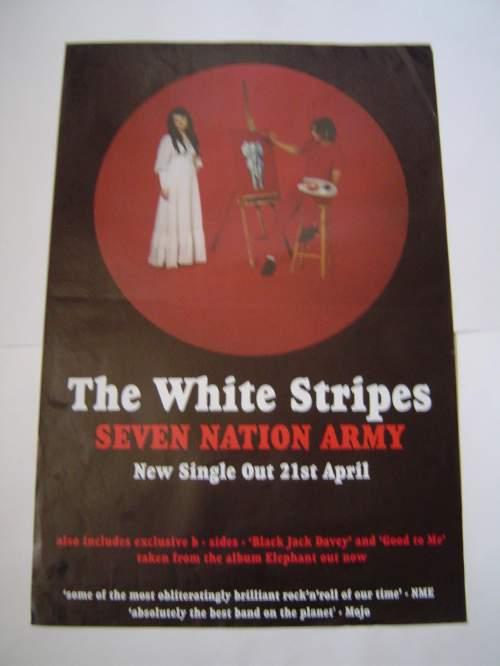 Five Different  The White Stripes Original Advertising Posters image-6