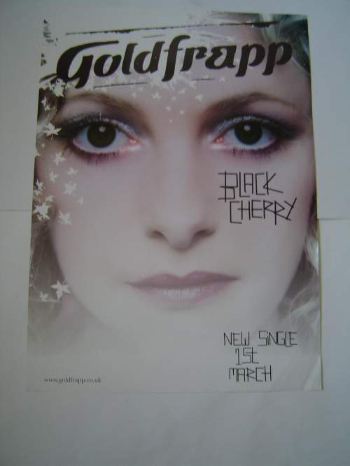 Five Different Goldfrapp Original Advertising Posters image-2
