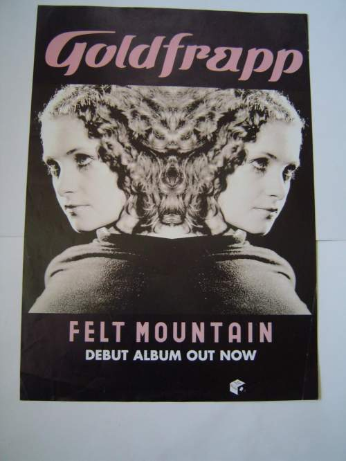Five Different Goldfrapp Original Advertising Posters image-3
