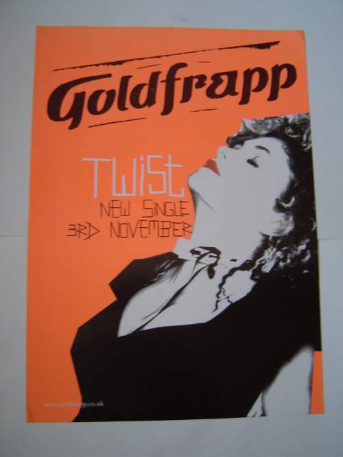 Five Different Goldfrapp Original Advertising Posters image-4