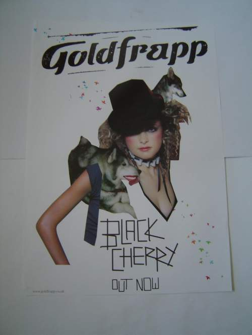 Five Different Goldfrapp Original Advertising Posters image-5