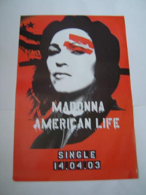 Five of Madonna Original Advertising Posters image-3