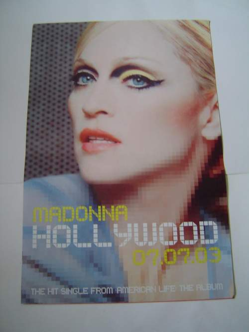 Five of Madonna Original Advertising Posters image-4
