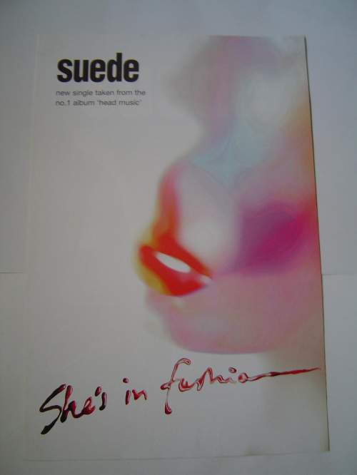 Four  Different Suede Original Advertising Posters image-5