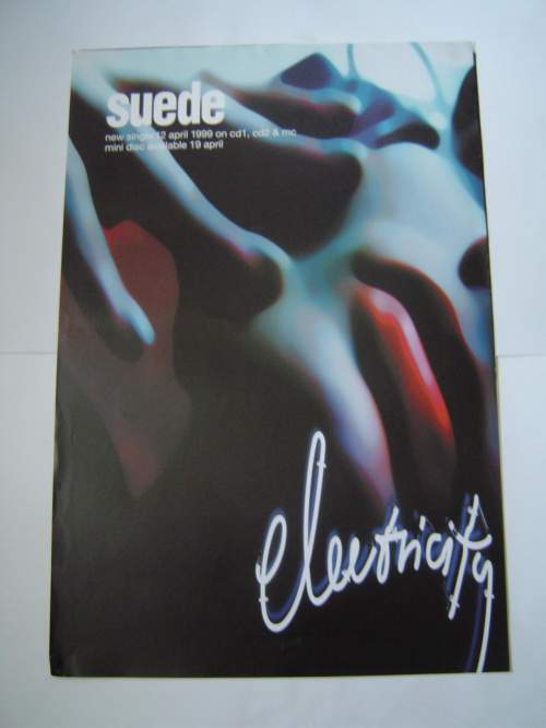 Four  Different Suede Original Advertising Posters image-2