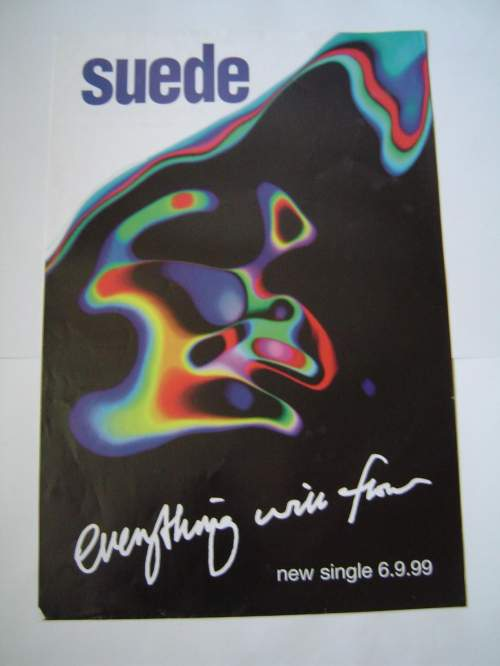 Four  Different Suede Original Advertising Posters image-3