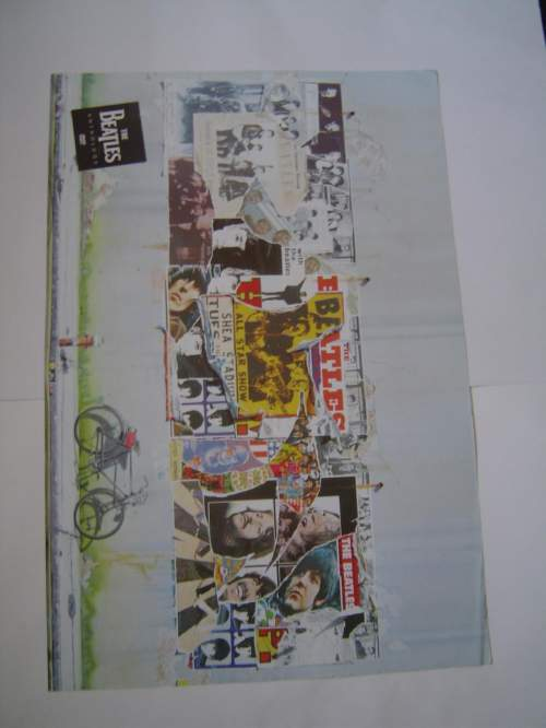 Four Different Beatles Original Advertising Posters Set 2 image-2